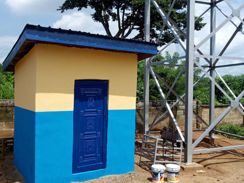 Collection House for the Solar Powered Borehole