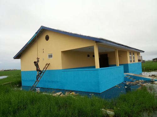 Construction of a Health Centre